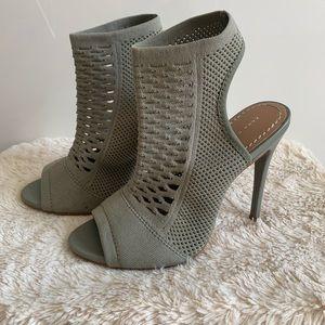 Zara Sock Booties Heels size 35